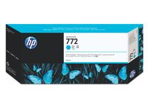Мастила и глави за широкоформатни принтери » Мастило HP 772, Cyan (300 ml)
