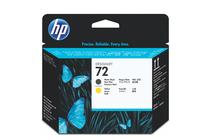 Мастила и глави за широкоформатни принтери » Глава HP 72, Matte Black + Yellow