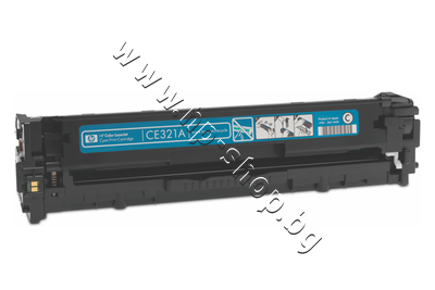 CE321A Тонер HP 128A за CM1415/CP1525, Cyan (1.3K)