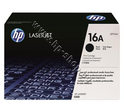 Q7516A Тонер HP 16A за 5200 (12K)