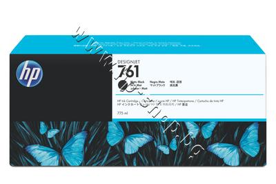 CM997A Мастило HP 761, Matte Black (775 ml)