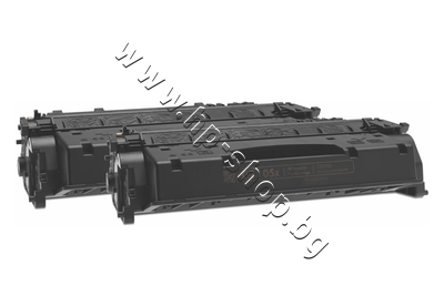 CE505XD Тонер HP 05X за P2055 2-pack (2x6.5K)