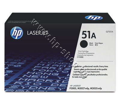 Q7551A Тонер HP 51A за P3005/M3027/M3035 (6.5K)