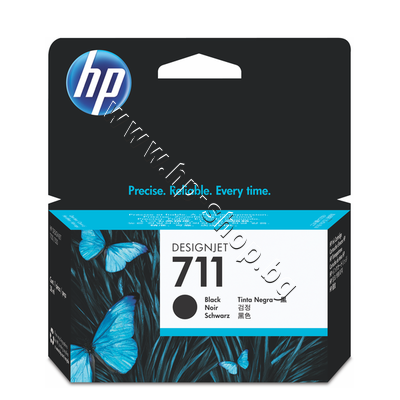 CZ129A Мастило HP 711, Black (38 ml)