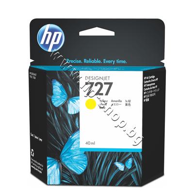 B3P15A Мастило HP 727, Yellow (40 ml)