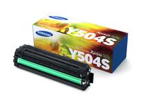 Тонер касети и тонери за цветни лазерни принтери Samsung » Тонер Samsung CLT-Y504S за SL-C1810/C1860, Yellow (1.8K)