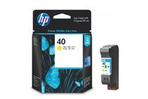 Мастила и глави за мастиленоструйни принтери » Касета HP 40, Yellow