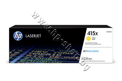 W2032X Тонер HP 415X за M454/M479, Yellow (6K)