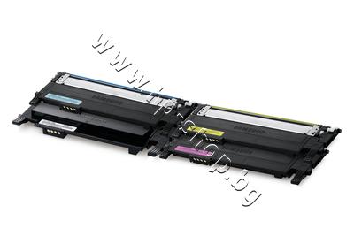 SU375A Тонер Samsung CLT-P406C за SL-C410/C460 4-pack, 4 цвята (4.5K)