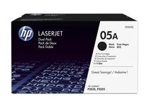 Тонер касети и тонери за лазерни принтери » Тонер HP 05A за P2035/P2055 2-pack (2x2.3K)