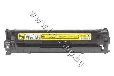 CB542A Тонер HP 125A за CP1215/CM1312, Yellow (1.4K)