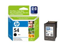 Мастила и глави за мастиленоструйни принтери » Касета HP 54, Black