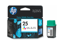 Мастила и глави за мастиленоструйни принтери » Касета HP 25, Tri-color