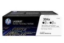 Тонер касети и тонери за цветни лазерни принтери » Тонер HP 304A за CP2025/CM2320 2-pack, Black (2x3.5K)