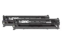 Тонер касети и тонери за цветни лазерни принтери » Тонер HP 125A за CP1215/CM1312 2-pack, Black (2x2.2K)