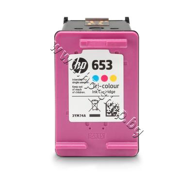 3YM74AE Касета HP 653, Tri-color