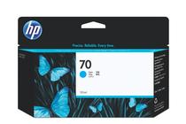 Мастила и глави за широкоформатни принтери » Мастило HP 70, Cyan (130 ml)