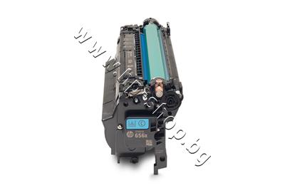 CF461X Тонер HP 656X за M652/M653, Cyan (22K)
