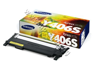 SU462A Тонер Samsung CLT-Y406S за SL-C410/C460, Yellow (1K)