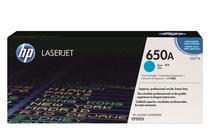 Тонер касети и тонери за цветни лазерни принтери » Тонер HP 650A за CP5525/M750, Cyan (15K)