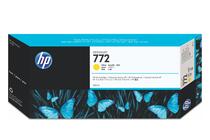 Мастила и глави за широкоформатни принтери » Мастило HP 772, Yellow (300 ml)