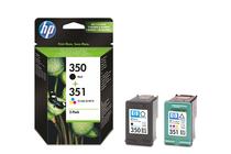 Мастила и глави за мастиленоструйни принтери » Касета HP 350/351 combo 2-pack, 4 цвята
