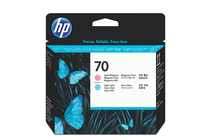 Мастила и глави за широкоформатни принтери » Глава HP 70, Light Cyan + Light Magenta