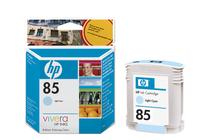 Мастила и глави за широкоформатни принтери » Мастило HP 85, Light Cyan (69 ml)