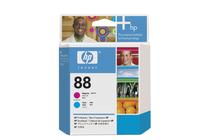 Мастила и глави за мастиленоструйни принтери » Глава HP 88, Magenta + Cyan