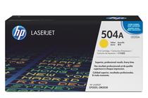 Тонер касети и тонери за цветни лазерни принтери » Тонер HP 504A за CP3525/CM3530, Yellow (7K)