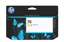 Мастила и глави за широкоформатни принтери » Мастило HP 70, Yellow (130 ml)