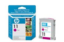 Мастила и глави за широкоформатни принтери » Мастило HP 11, Magenta (28 ml)