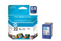 Мастила и глави за мастиленоструйни принтери » Касета HP 22, Tri-color