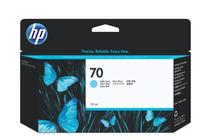 Мастила и глави за широкоформатни принтери » Мастило HP 70, Light Cyan (130 ml)