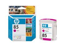 Мастила и глави за широкоформатни принтери » Мастило HP 85, Magenta (28 ml)