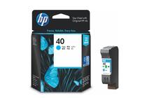 Мастила и глави за мастиленоструйни принтери » Касета HP 40, Cyan