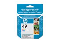 Мастила и глави за мастиленоструйни принтери » Касета HP 49, Tri-color 11 ml