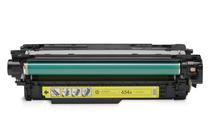 Тонер касети и тонери за цветни лазерни принтери » Тонер HP 654A за M651, Yellow (15K)