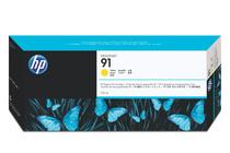 Мастила и глави за широкоформатни принтери » Мастило HP 91, Yellow (775 ml)