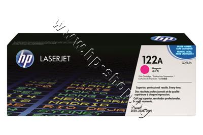 Q3963A Тонер HP 122A за 2550/2800, Magenta (4K)