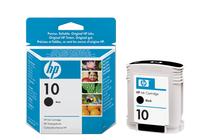 Мастила и глави за широкоформатни принтери » Мастило HP 10, Black (69 ml)