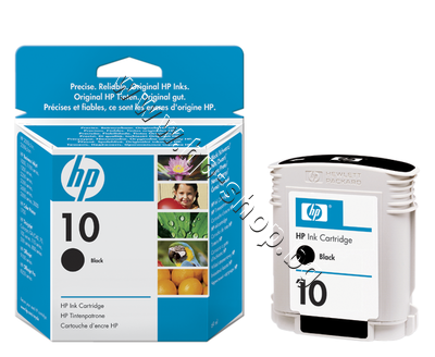 C4844A Мастило HP 10, Black (69 ml)