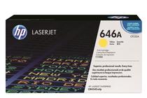 Тонер касети и тонери за цветни лазерни принтери » Тонер HP 646A за CM4540, Yellow (12.5K)