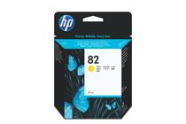 Мастила и глави за широкоформатни принтери » Мастило HP 82, Yellow (69 ml)