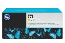 Мастила и глави за широкоформатни принтери » Мастило HP 771C, Yellow (775 ml)