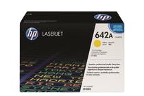 Тонер касети и тонери за цветни лазерни принтери » Тонер HP 642A за CP4005, Yellow (7.5K)
