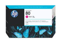 Мастила и глави за широкоформатни принтери » Мастило HP 80, Magenta (350 ml)