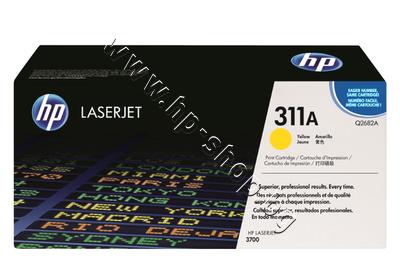 Q2682A Тонер HP 311A за 3700, Yellow (6K)
