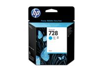 Мастила и глави за широкоформатни принтери » Мастило HP 728, Cyan (40 ml)