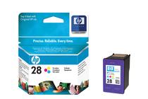 Мастила и глави за мастиленоструйни принтери » Касета HP 28, Tri-color